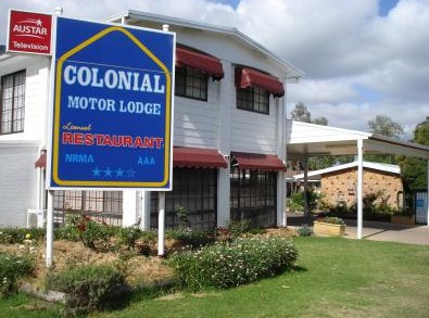 Colonial Motor Lodge - Lightning Ridge Tourism