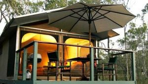 Jabiru Safari Lodge at Mareeba Wetlands - Lightning Ridge Tourism