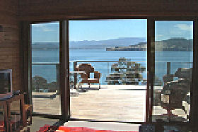 Bruny Island Accommodation Services - Captains Cabin - Lightning Ridge Tourism