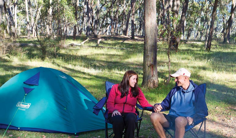 Apsley Falls campground - Lightning Ridge Tourism