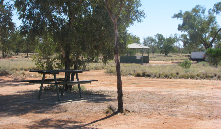 Dead Horse Gully campground - Lightning Ridge Tourism