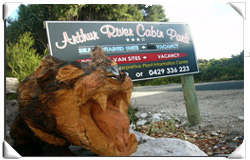 Arthur River Cabin Park - Lightning Ridge Tourism