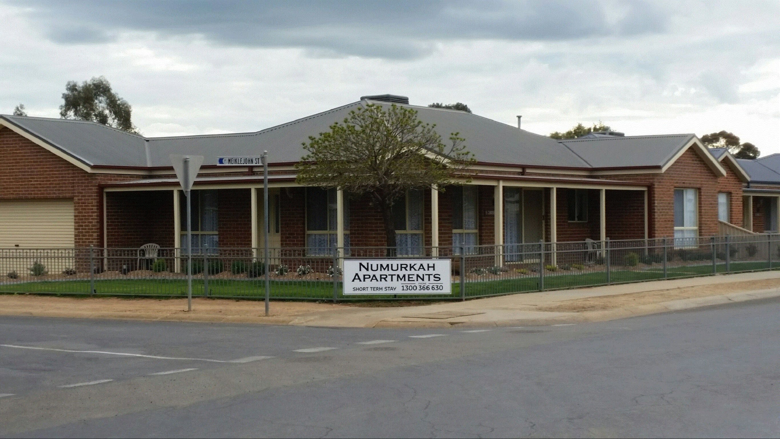 Numurkah Self Contained Apartments - Lightning Ridge Tourism