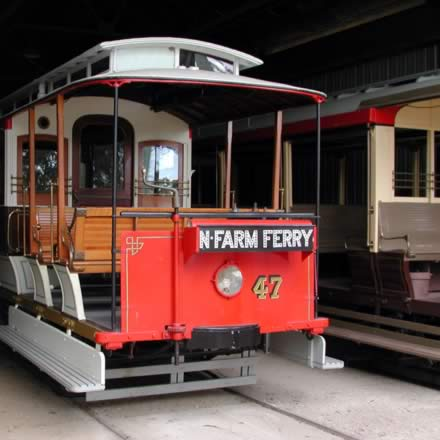 Brisbane Tramway Museum - Lightning Ridge Tourism
