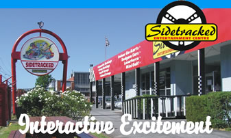 Sidetracked Entertainment Centre - Lightning Ridge Tourism