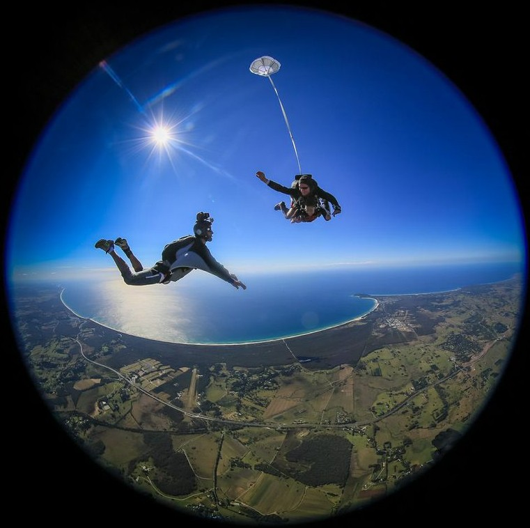 Skydive Byron Bay
