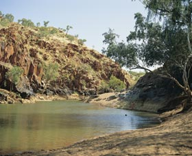 Caroline Pool - Lightning Ridge Tourism