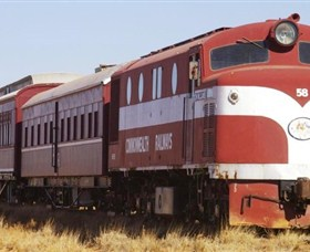 Old Ghan Heritage Railway and Museum - Lightning Ridge Tourism