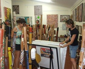 Top Didj  Art Gallery - Lightning Ridge Tourism