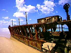 Maheno Shipwreck - Lightning Ridge Tourism