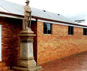 Westbrook War Memorial - Lightning Ridge Tourism
