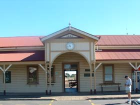 Maryborough Railway Station - Lightning Ridge Tourism