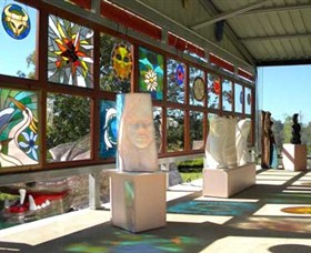 Alpha31 Art Gallery and Sculpture Garden - Lightning Ridge Tourism