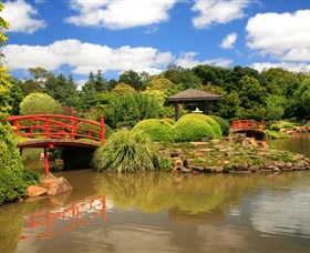 Japanese Gardens - Lightning Ridge Tourism