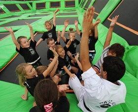 Flip Out Trampoline Arena
