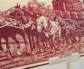 Historical Mural Series - Lightning Ridge Tourism
