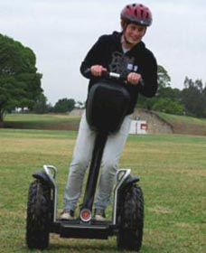 Segway Tours Australia - Lightning Ridge Tourism