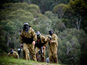 Paintball Sports - Lightning Ridge Tourism