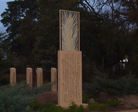 Milestones Sculptures in Cootamundra
