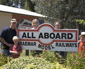 All Aboard Braemar Model Railways - Lightning Ridge Tourism