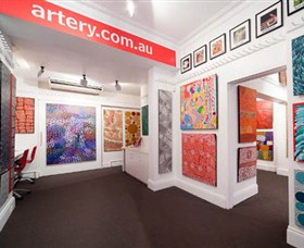 The Artery Aboriginal Art - Lightning Ridge Tourism