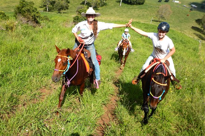 Country Day Ride from Mt Goomboorian with Rainbow Beach Horse Rides - Lightning Ridge Tourism