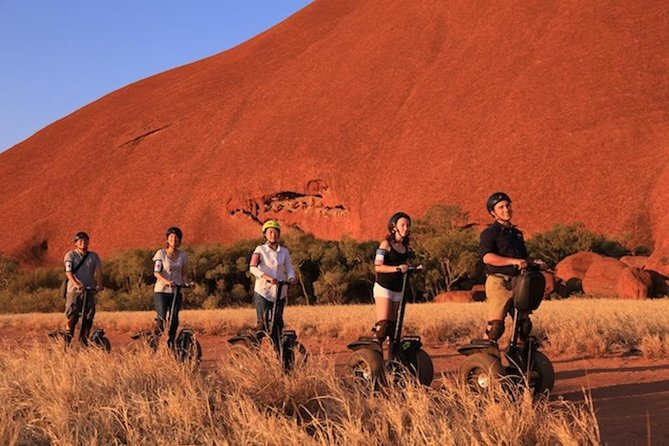 Quarter Uluru Segway  Sunset - Lightning Ridge Tourism