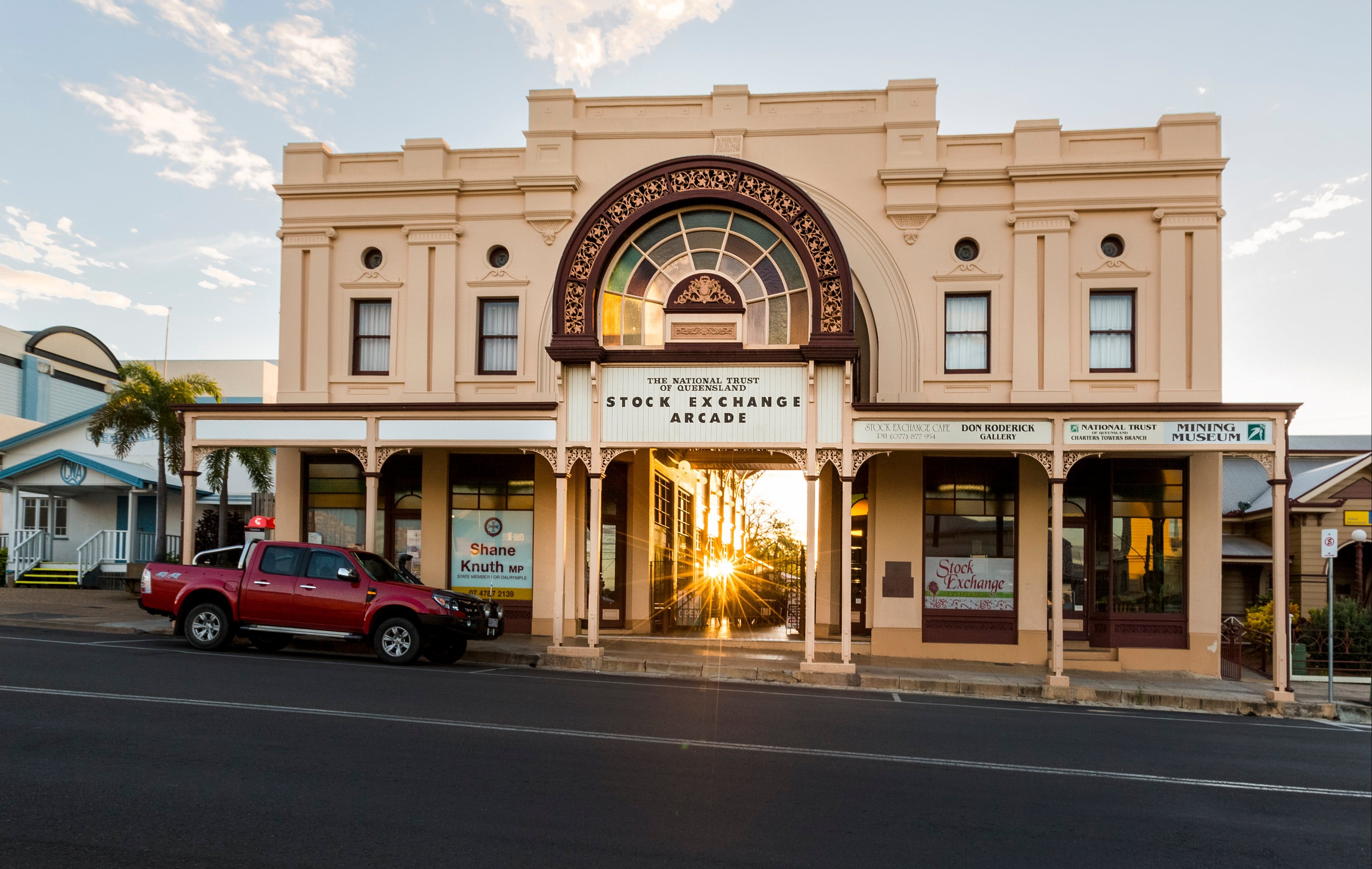 Stock Exchange Arcade - Lightning Ridge Tourism