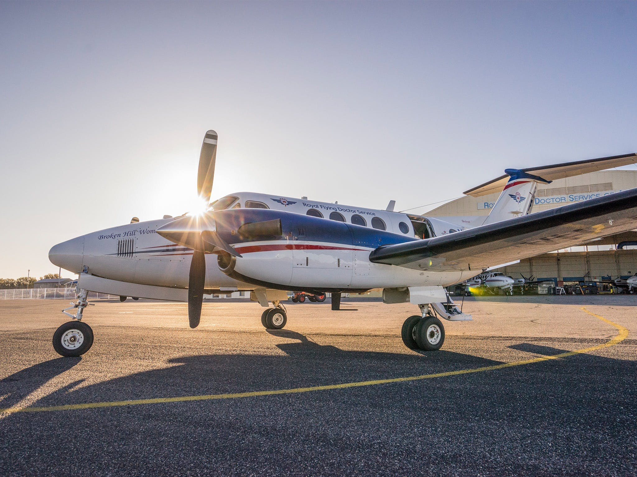 The Royal Flying Doctor Service Outback Experience in Broken Hill - Lightning Ridge Tourism