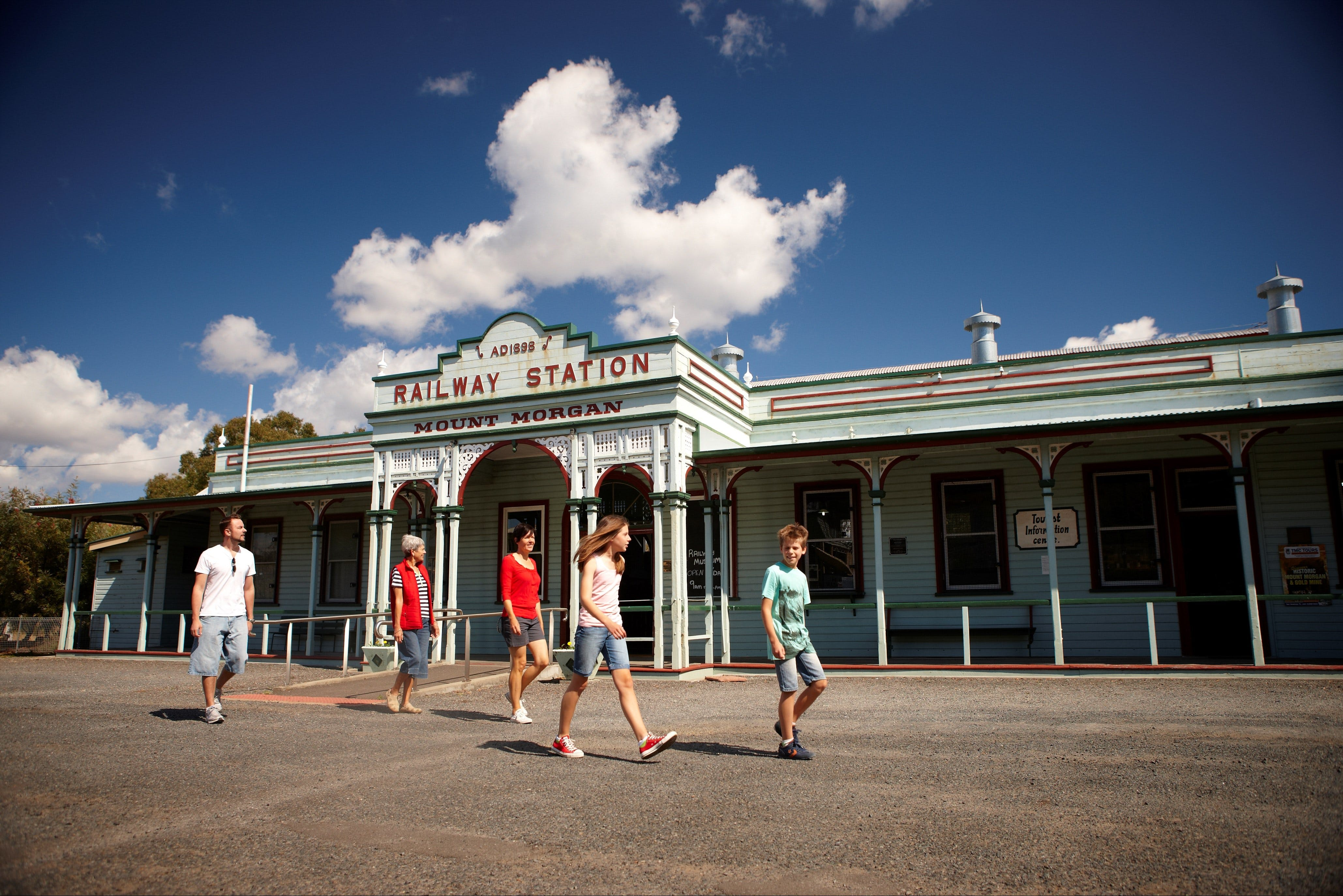 Mount Morgan Historical Railway Museum - Lightning Ridge Tourism