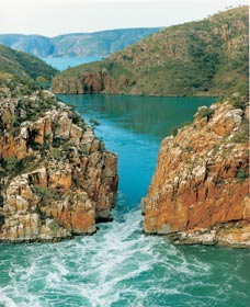 Horizontal Waterfalls