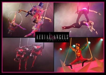 Aerial Angels - Lightning Ridge Tourism