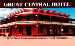 Great Central Hotel - Lightning Ridge Tourism