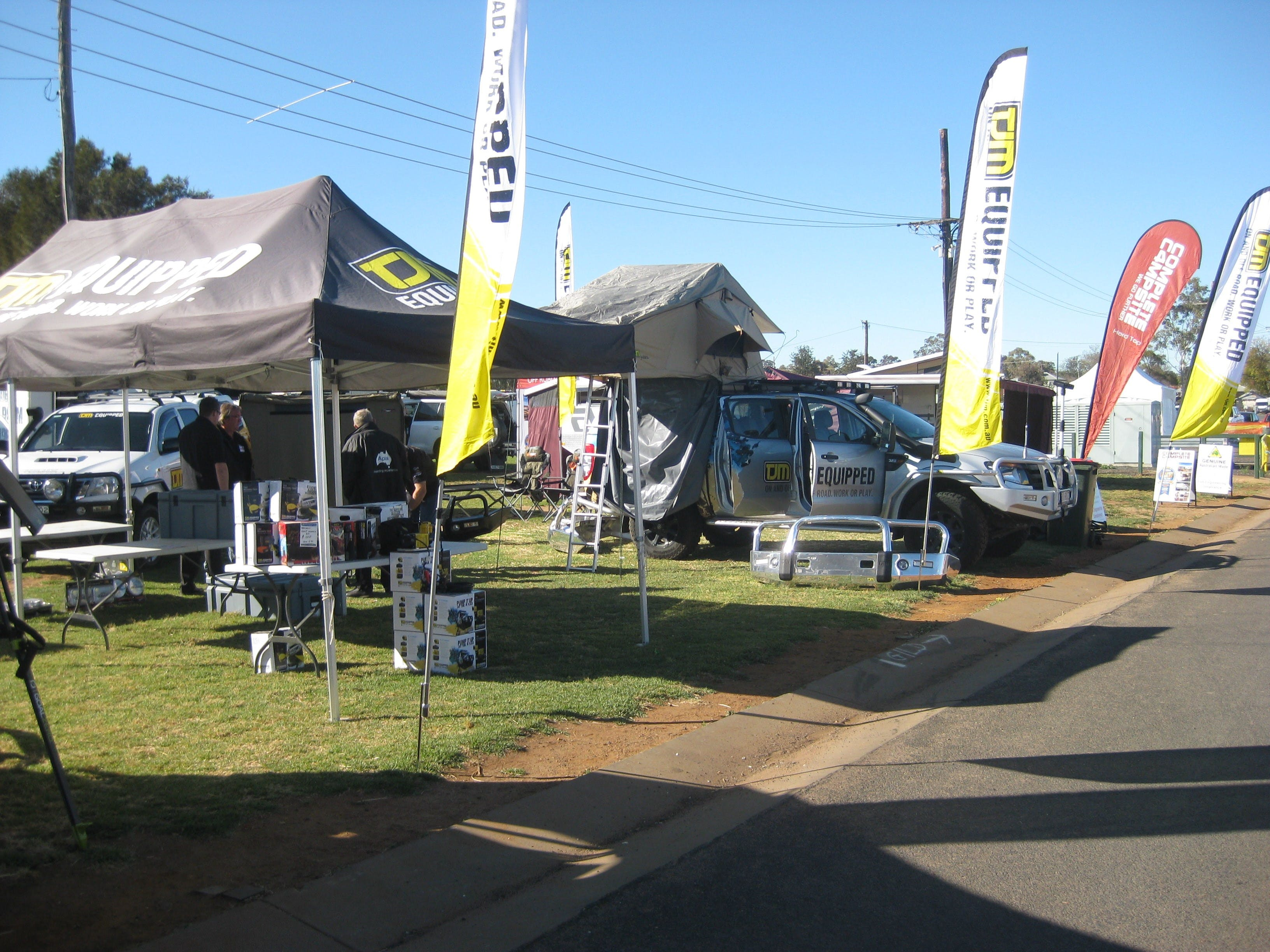 Orana Caravan Camping 4WD Fish and Boat Show - Lightning Ridge Tourism