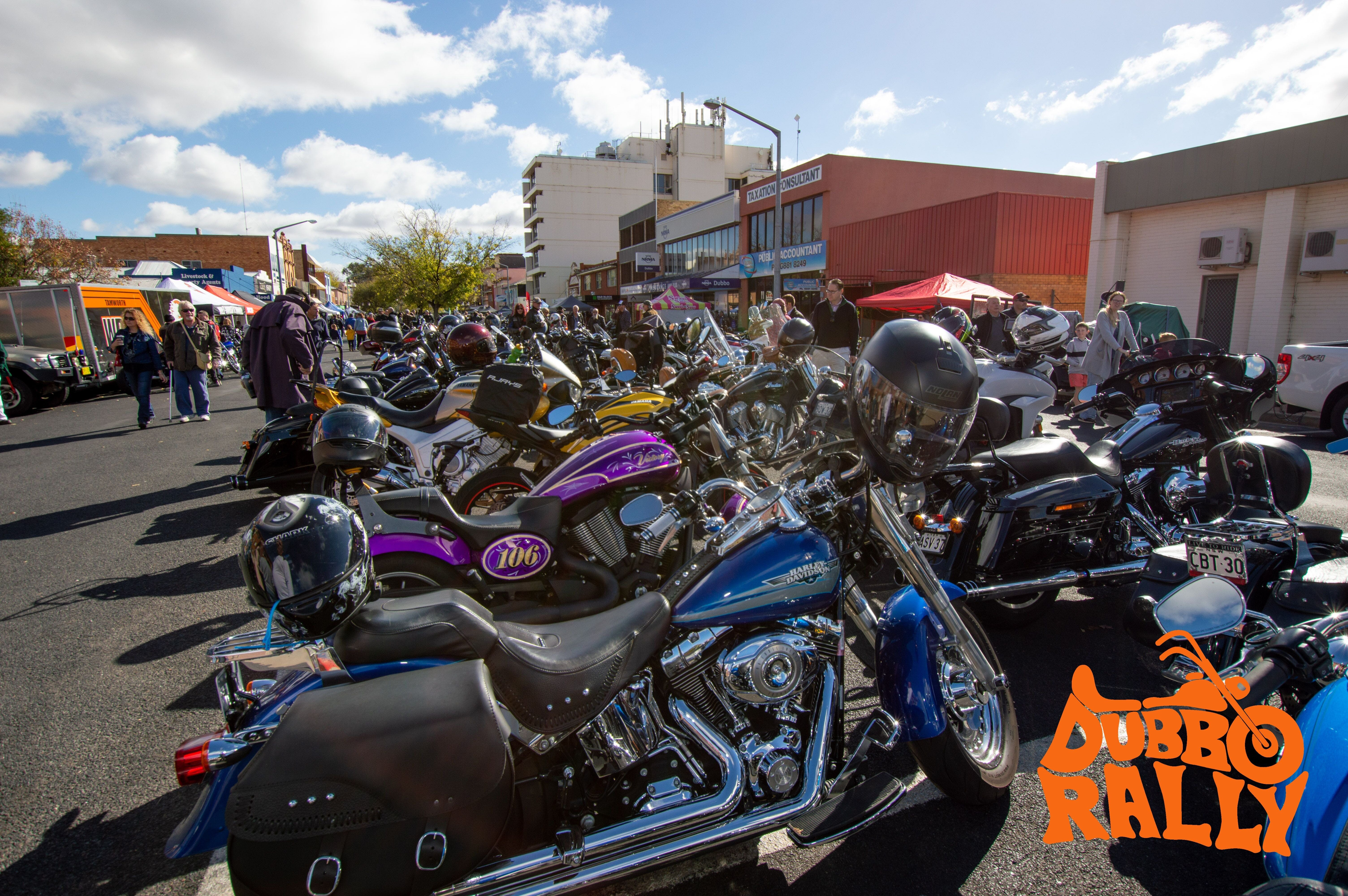 Dubbo Motor Bike Rally - Lightning Ridge Tourism