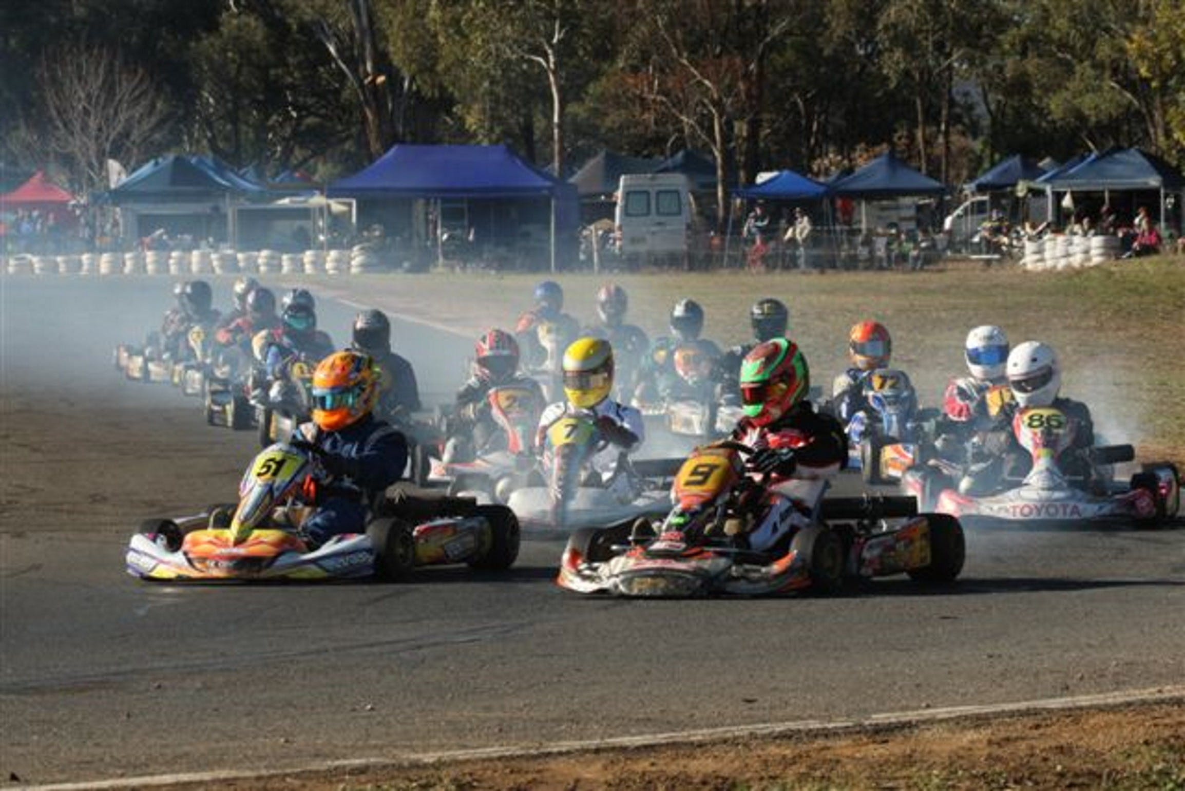 Grenfell Kart Club December Race Day - Lightning Ridge Tourism