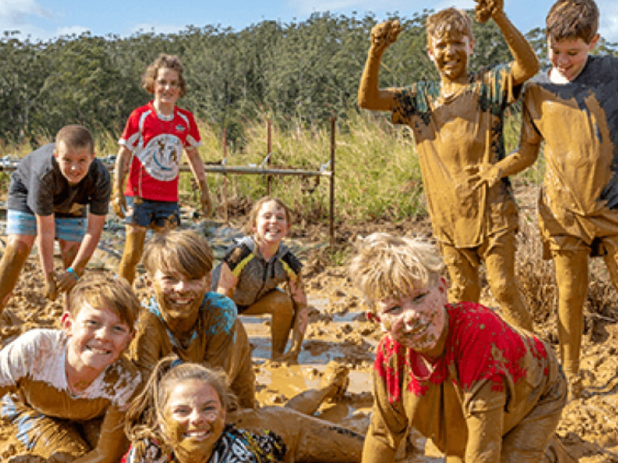 Mini Muddies Obstacle Challenge at Bunnamagoo Estate - Lightning Ridge Tourism