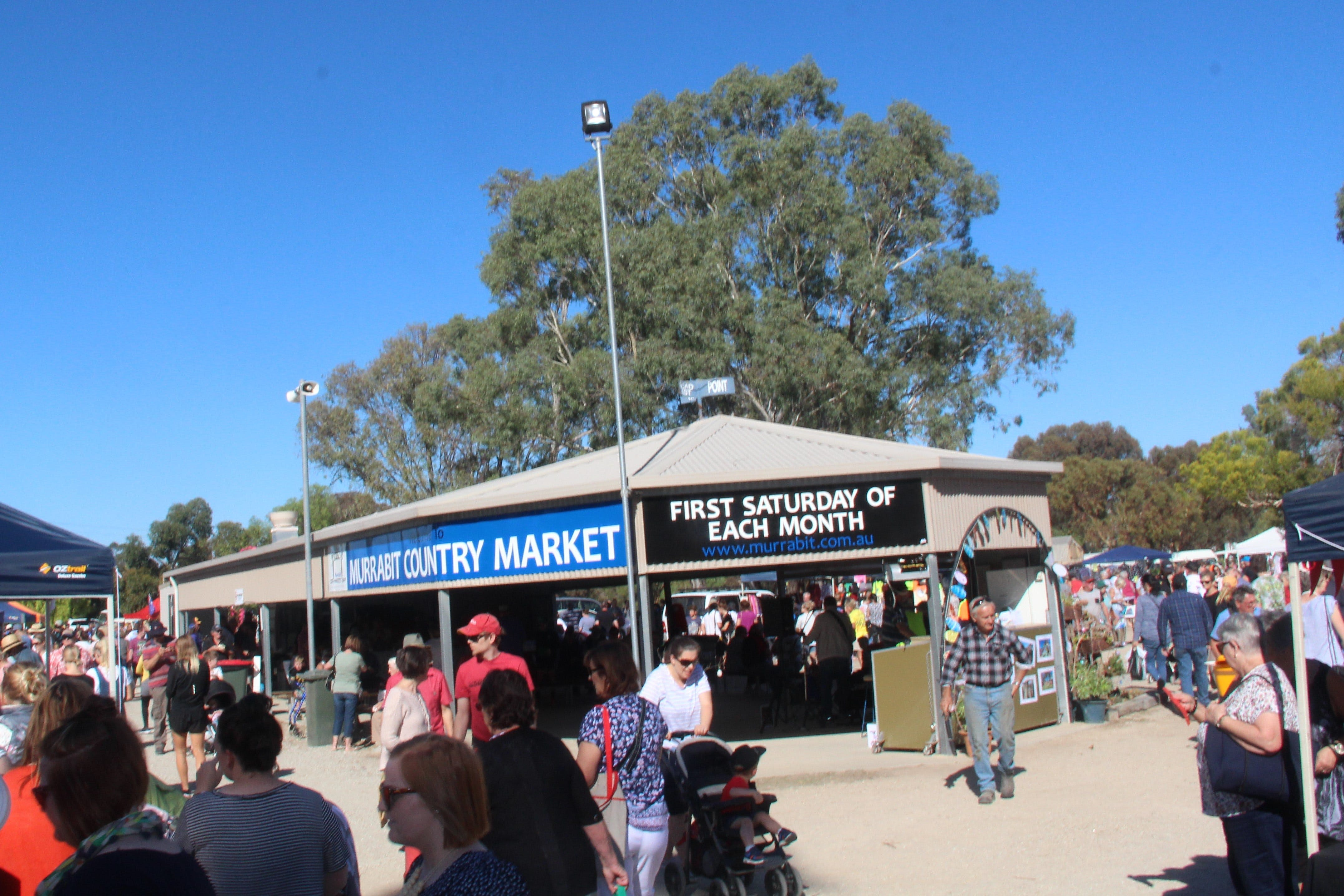 Murrabit Country Market - Lightning Ridge Tourism
