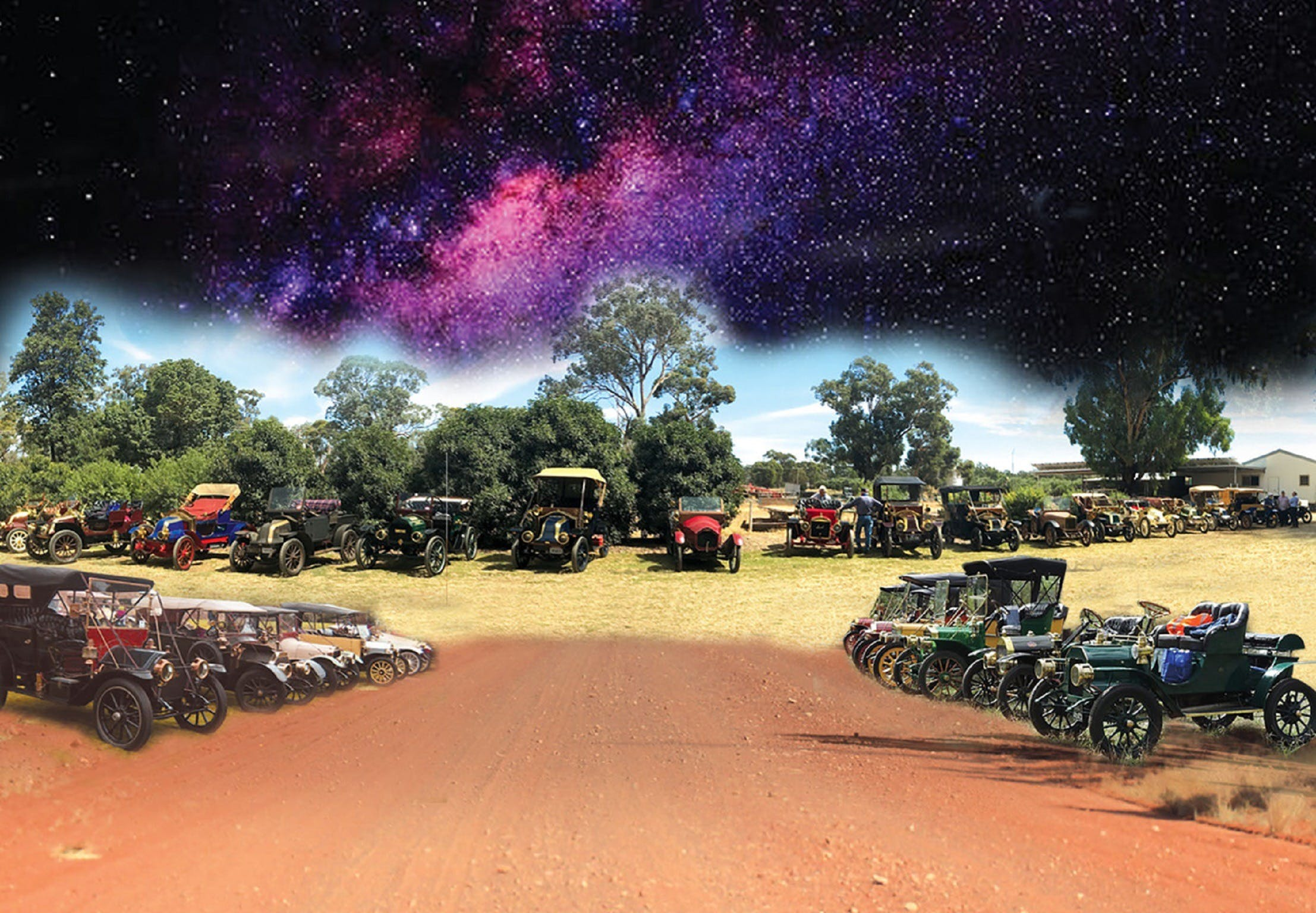 National Veteran 1 and 2 Cylinder Rally - Lightning Ridge Tourism