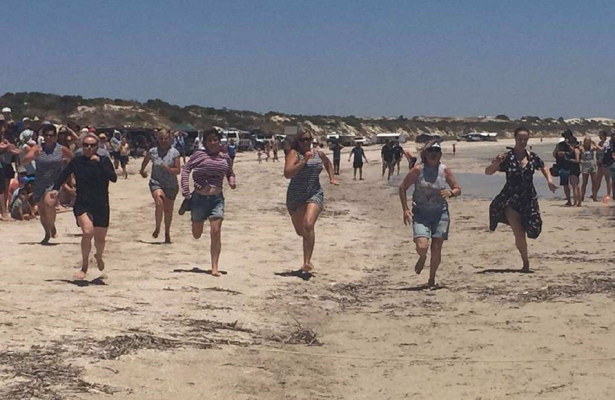 Perlubie Beach Sports Day - Lightning Ridge Tourism
