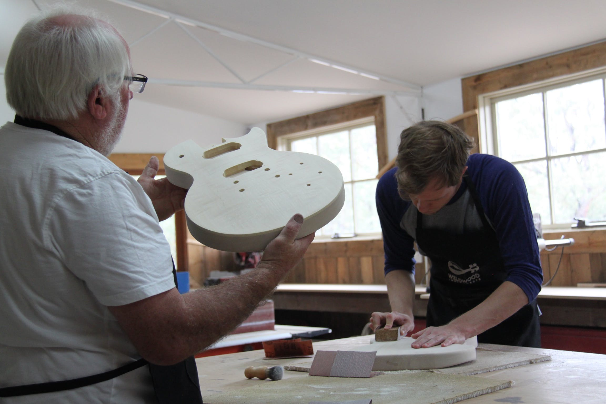 Electric Guitar Making Courses - Lightning Ridge Tourism
