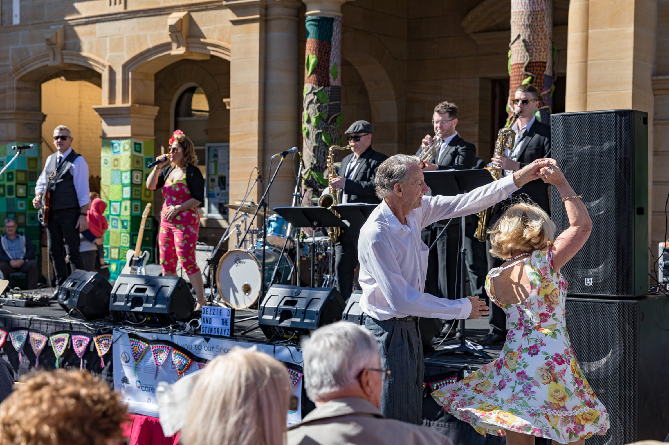 Jumpers and Jazz in July Festival - Lightning Ridge Tourism