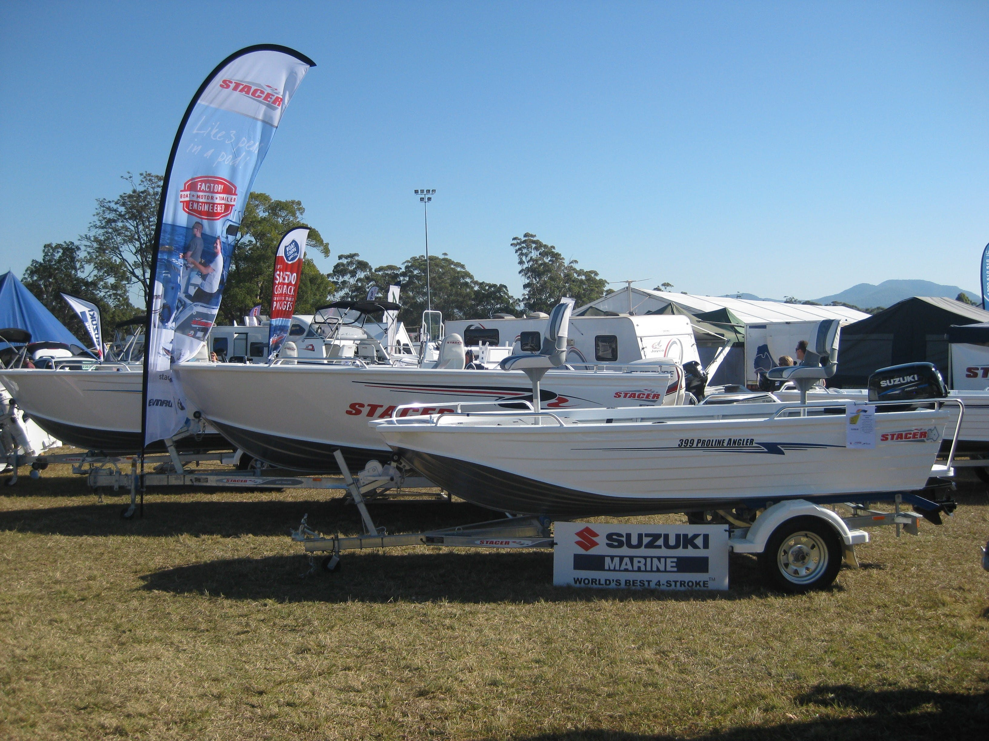 Mid North Coast Caravan Camping 4WD Fish and Boat Show - Lightning Ridge Tourism