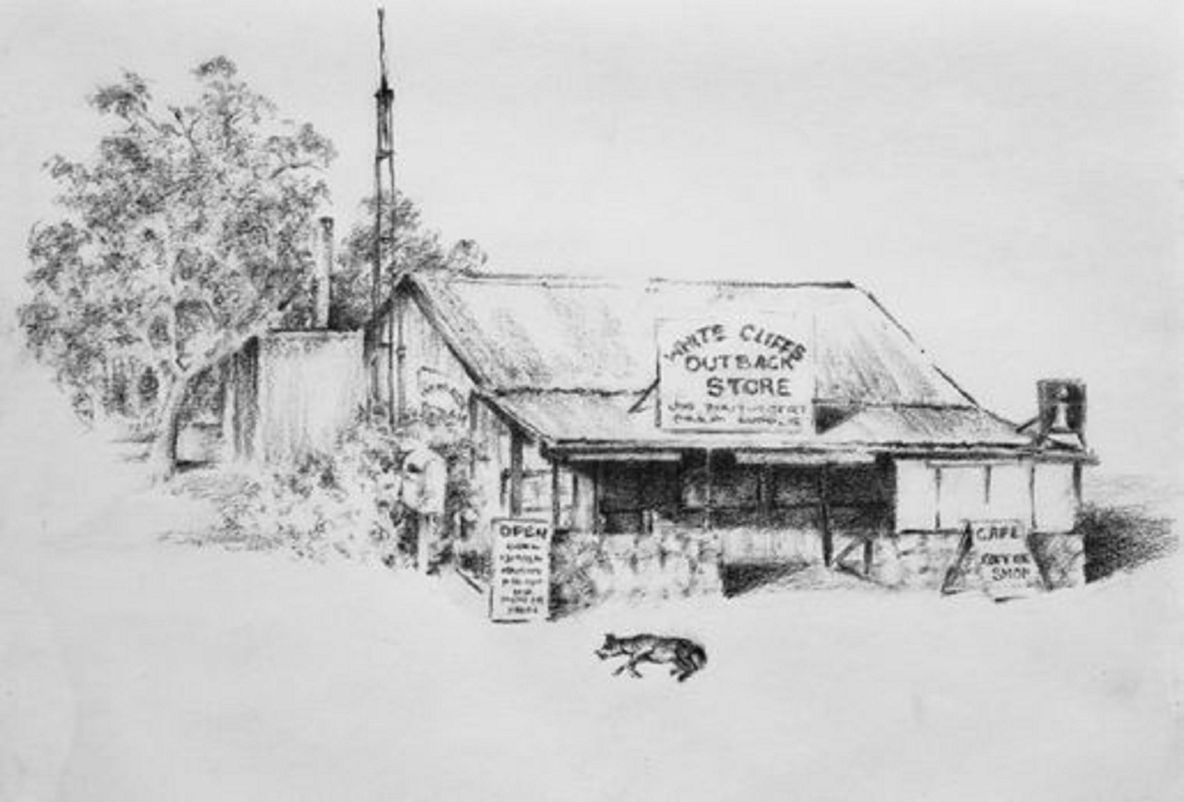 White Cliffs Outback Store - Lightning Ridge Tourism