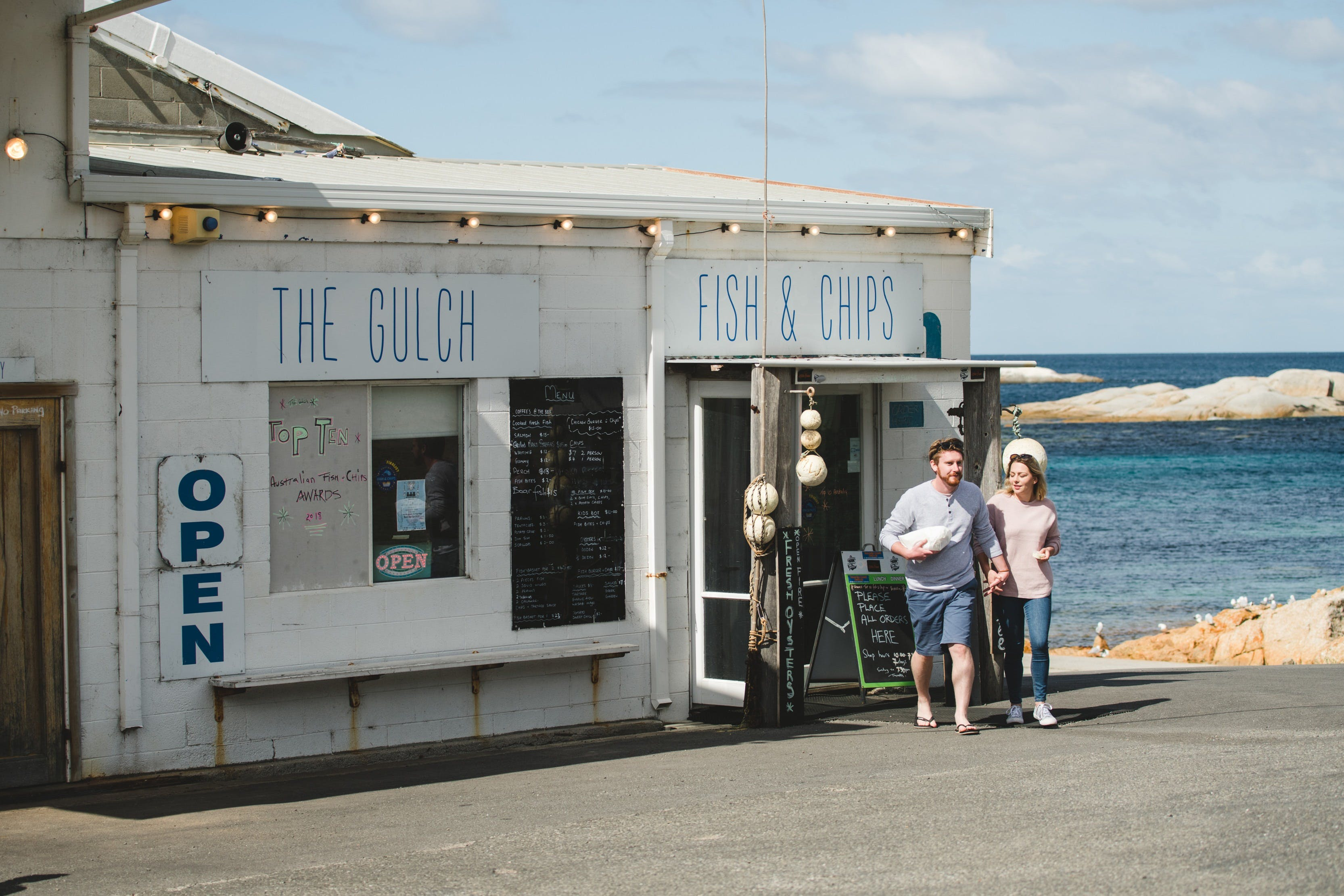 The Gulch Fish  Chips - Lightning Ridge Tourism