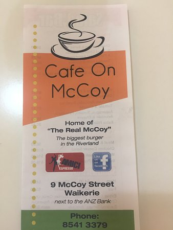 Cafe on McCoy - Lightning Ridge Tourism