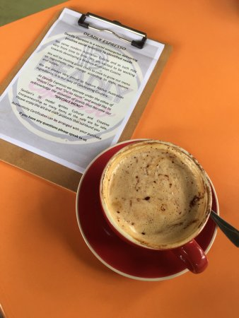 Deadly Espresso - Lightning Ridge Tourism